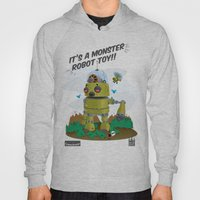 Monster Robot Toy Hoody