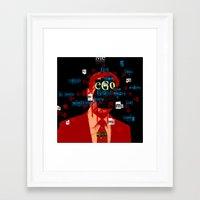 Mankind Motivation X5 Framed Art Print