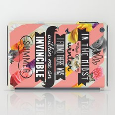 The Invincible Summer iPad Case