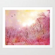 Winter's Summer Art Print