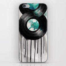 infinite vinyl iPhone & iPod Skin