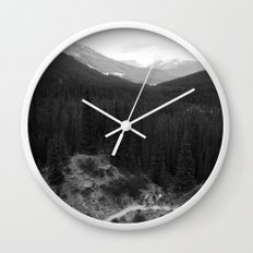 Lets Get Lost, The Valley of Ten Peaks Wall Clock