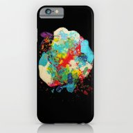 SPACE IN PAINT iPhone 6 Slim Case