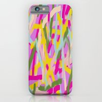 iPhone & iPod Case featuring Lines Lines Lines by AUZZLE