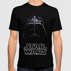 Darth Vader SMALL Mens Fitted Tee Black