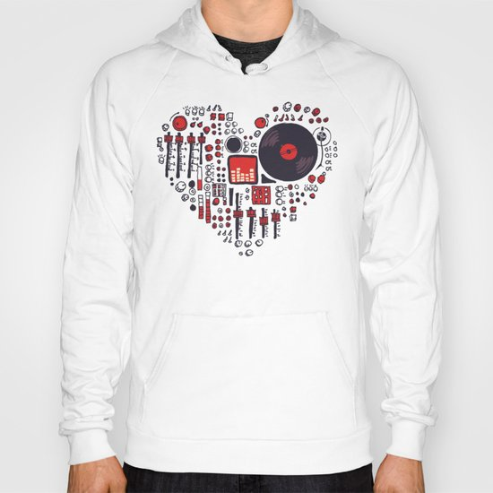 Music in every heartbeat Hoody