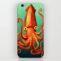 Giant Squid iPhone & iPod Skin