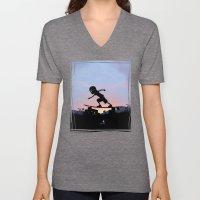 Silver Surfer Kid Unisex V-Neck
