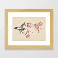 Blossom Bird  Framed Art Print