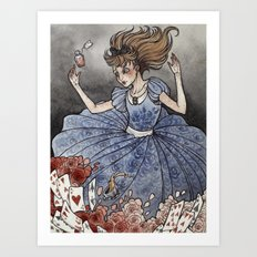 Alice In Wonderland Art … Art Print