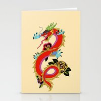 dragon Stationery Cards featuring dragon  by mark ashkenazi