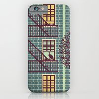 iPhone & iPod Case featuring the fly (night) by freshinkstain