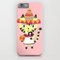iPhone & iPod Case featuring Kitty by ilana exelby