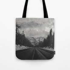 December Road Trip in the Pacific Northwest Tote Bag