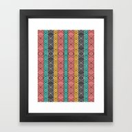 Framed Art Print featuring Artisan by Pom Graphic Design