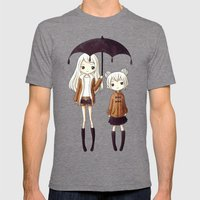 Sisters Mens Fitted Tee Tri-Grey SMALL