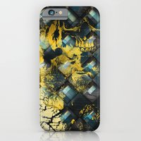 iPhone & iPod Case featuring Abstract Thinking Remix by DesignLawrence