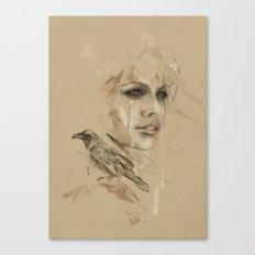 [Crow] Canvas Print