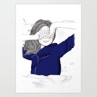 Fashion Illustration - Rise and Shine Art Print