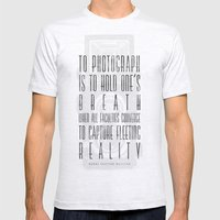 To Photograph... Mens Fitted Tee Ash Grey SMALL
