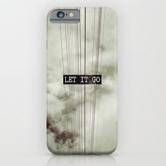 Let It Go iPhone & iPod Case