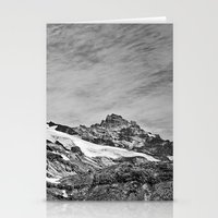 Rugged Mountain Hike Stationery Cards