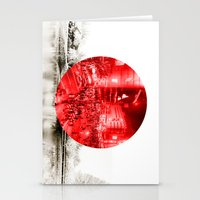 Land Of The Rising Sun Stationery Cards