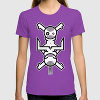 Human Connection Womens Fitted Tee Ultraviolet SMALL