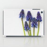 Muscari - Blue Grape - J… iPad Case