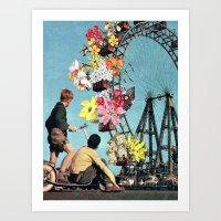 Bloomed Joyride Art Print