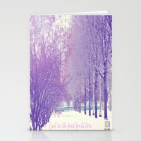 Can't See The Forest For… Stationery Cards