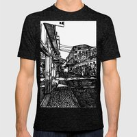 LX Factory 3 Mens Fitted Tee Tri-Black SMALL