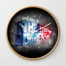 welcome to the 3rd Dimension  Wall Clock