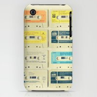 iPhone 3Gs & iPhone 3G Cases featuring All Tomorrow's Parties by Cassia Beck