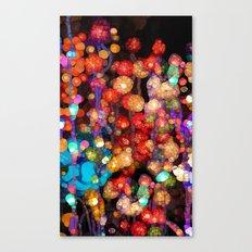 Trippy Floral Canvas Print