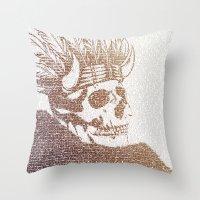 The Warrior Throw Pillow