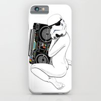 iPhone & iPod Case featuring Boombox trooper by Cisternas