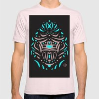 Temple of faces Mens Fitted Tee Light Pink SMALL