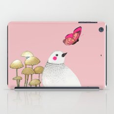 pink wall iPad Case