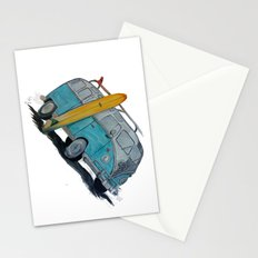 VW Bus Stationery Cards