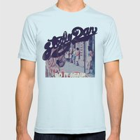 Steely Dan Do It Again Mens Fitted Tee Light Blue SMALL