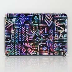 Tapa Tribal Black iPad Case