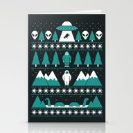 Paranormal Xmas Stationery Cards