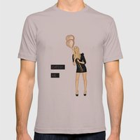 Catch Me Mens Fitted Tee Cinder SMALL