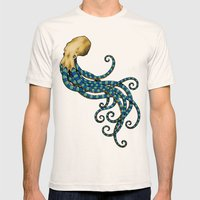 Octopuss Mens Fitted Tee Natural SMALL