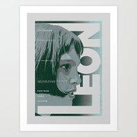 LEON (Natalie Portman Se… Art Print