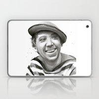 Yuriy Nikulin Portrait Watercolor | Юрий Никулин портрет Laptop & iPad Skin