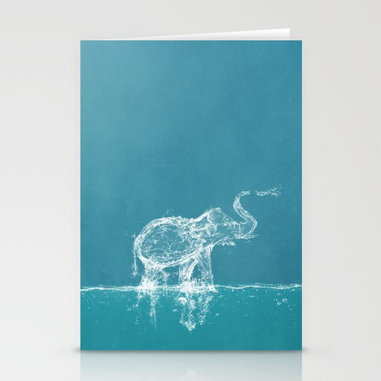 Elephant Stationery Card