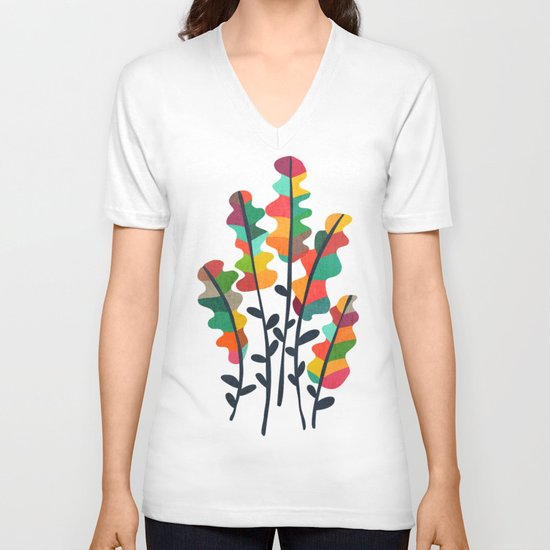 Flower from the meadow V-neck T-shirt