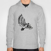 Raven Crow Shaman Tribal… Hoody